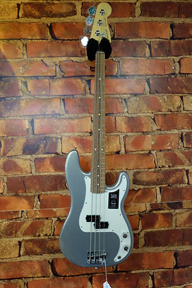 """NEW Fender P-Bass Players series """"Silver"""""""