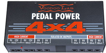 Voodoo Labs 4X4 pedal power