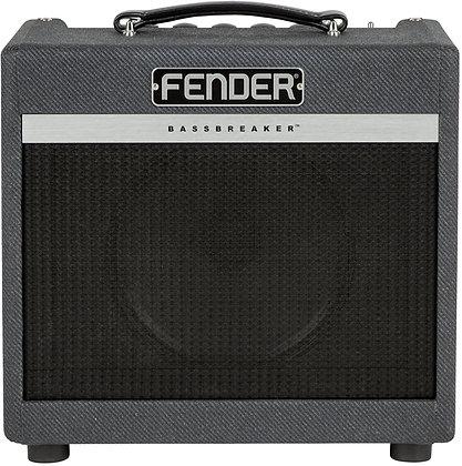 NEW Fender Bass Breaker combo