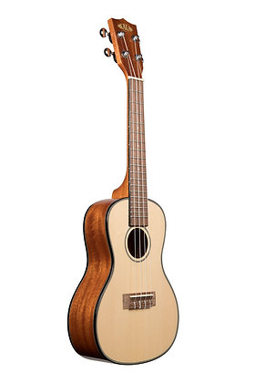 NEW Kala solid spruce top glass KA-SCG