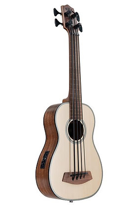 NEW Kala U.Bass solid spruce and mahogany