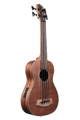 NEW Kala U.Bass Solid Mahogany Fretless