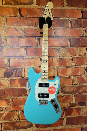 "NEW Fender Mustang P-90's ""Surf Green"""