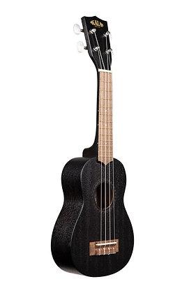 NEW Kala soprano uke KA-15S black