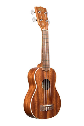 NEW Kala satin mahogany soprano uke KA-S