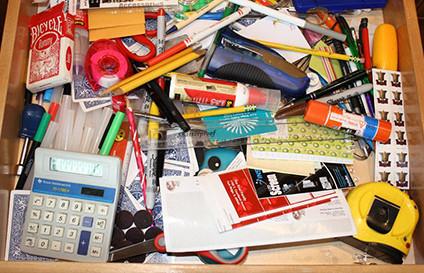 Organizing That Messy Junk Drawer