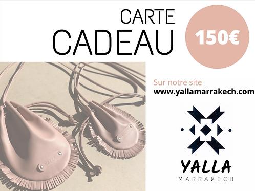 YALLA GIFT CARD 150