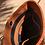 Thumbnail: JAAFAR - Hand braided leather Cognac