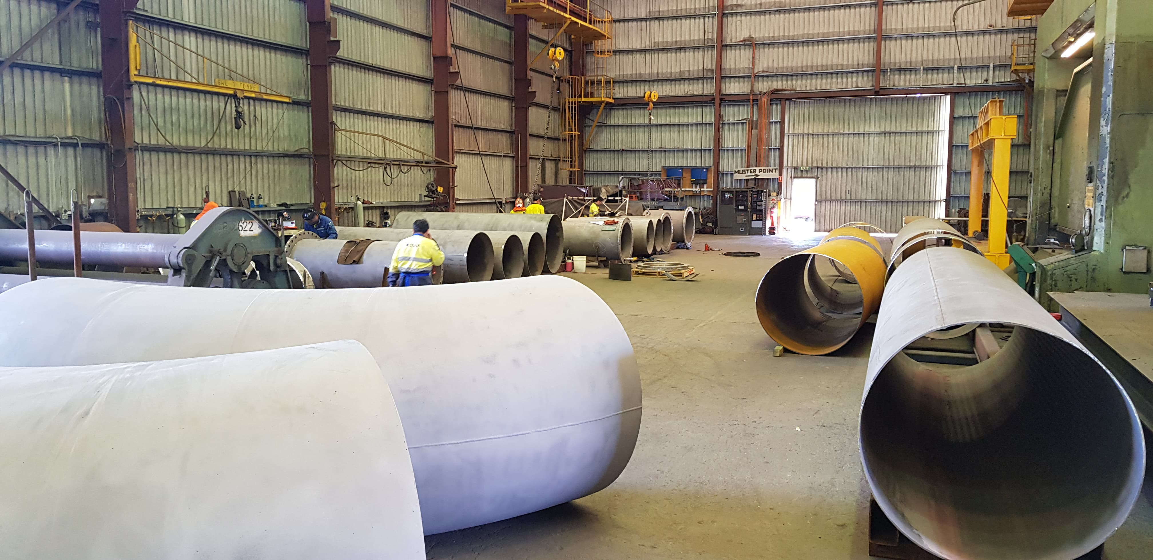 Bigbore Pipe Project