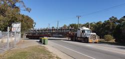 Final loadout of truss package