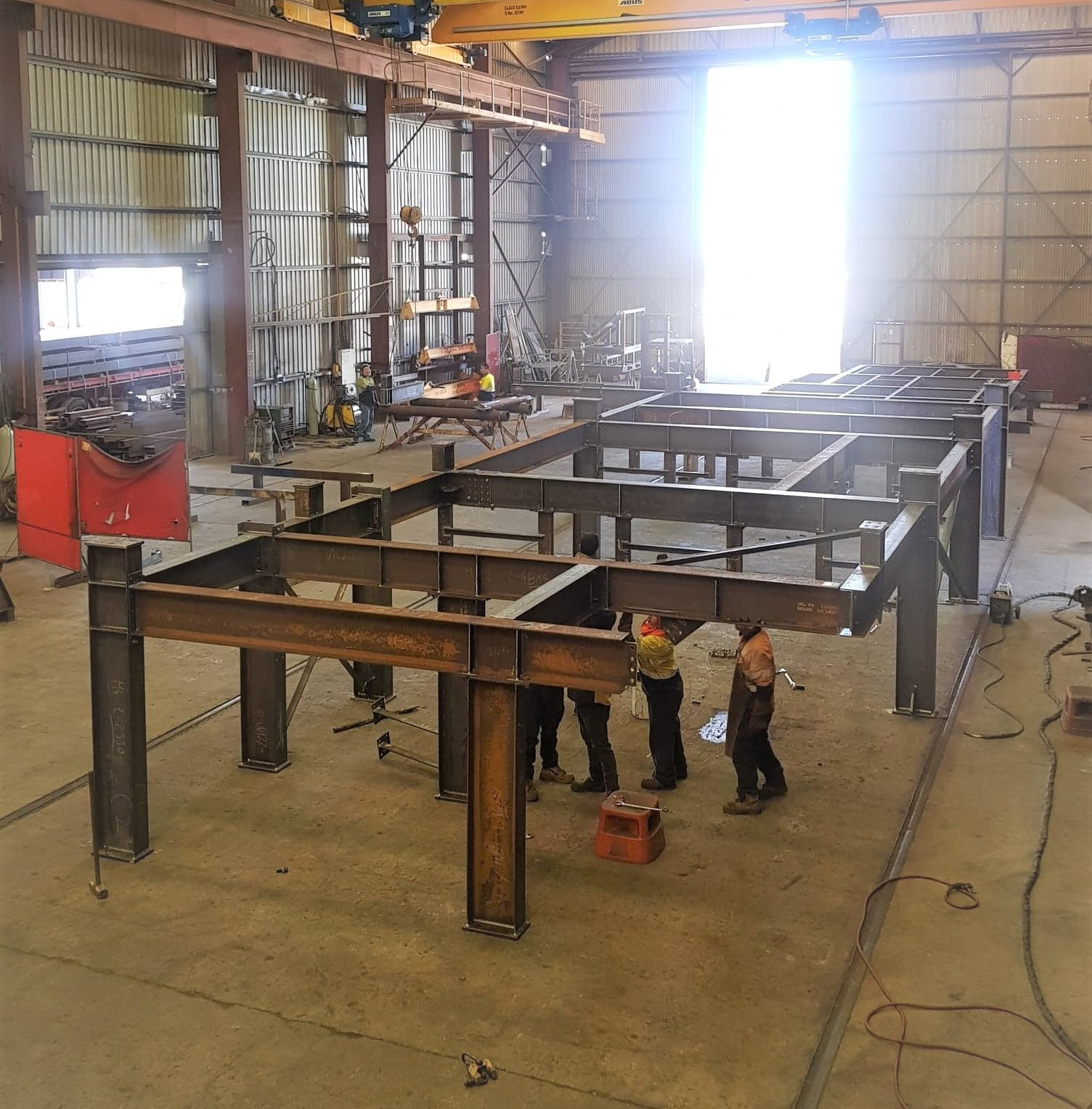 Switchroom & Sub frame fabrication