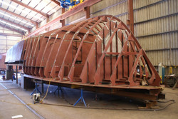 Fabrication of Steel Boat  -SME