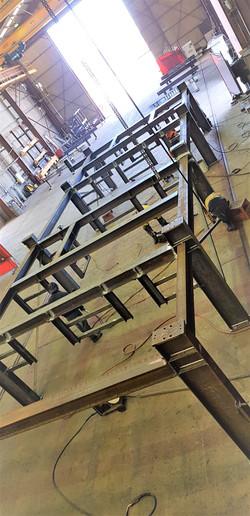Switchroom & Sub frame fabrication