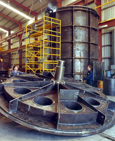 trommel barrel component
