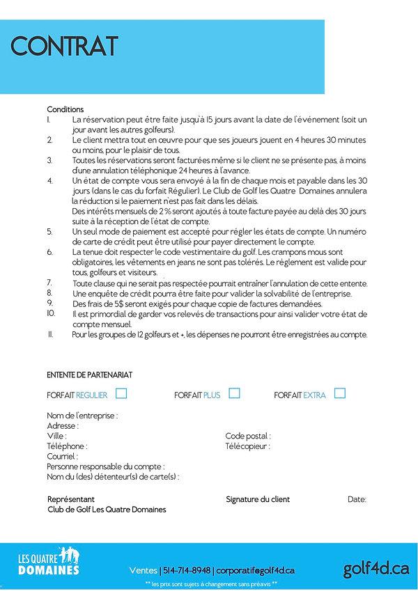 Contrat Corporatif 2019