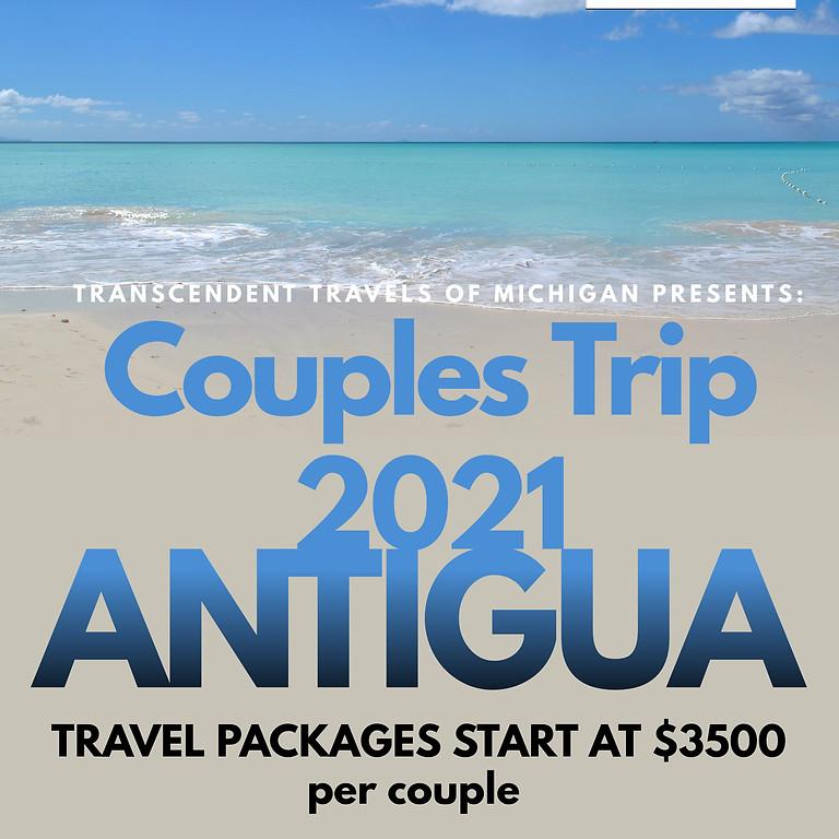 Summer in Antigua - Couple Trip Antigua 2020