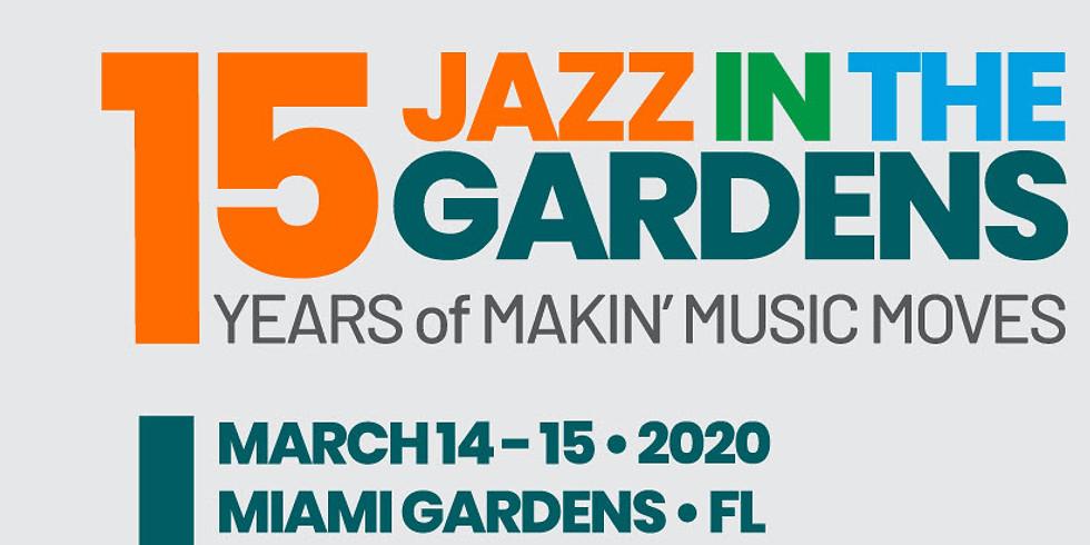 Jazz in the Garden Miami
