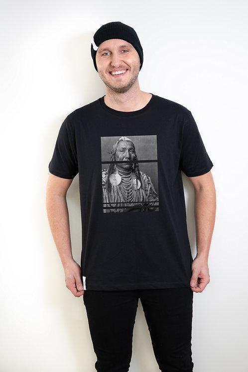 Organic Cotton T-shirt Old Indian, Unisex
