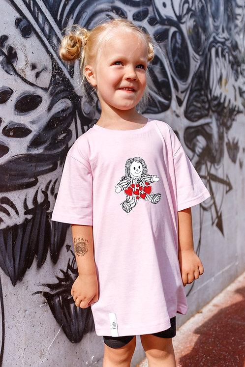 Children Organic Cotton T-shirt Rag Doll, Unisex