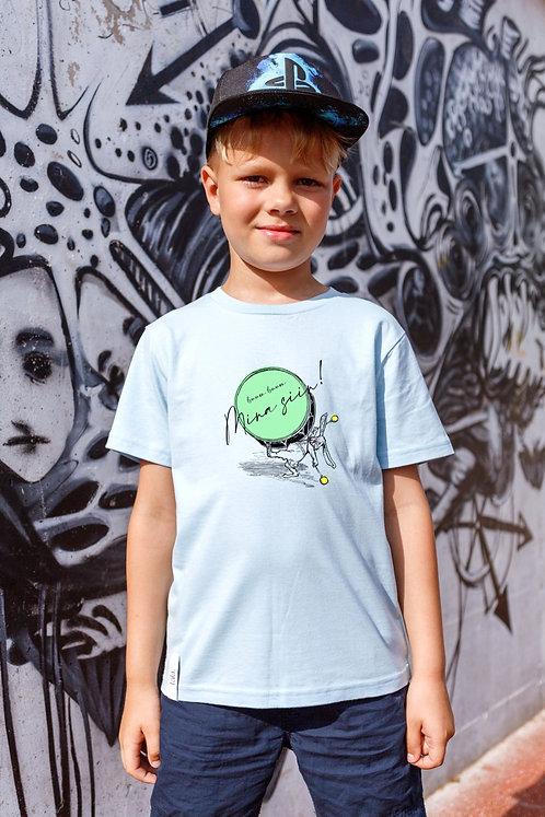 Children Organic Cotton T-shirt Boom, Unisex