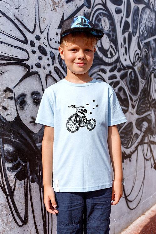 Children Organic Cotton T-shirt Trike, Unisex