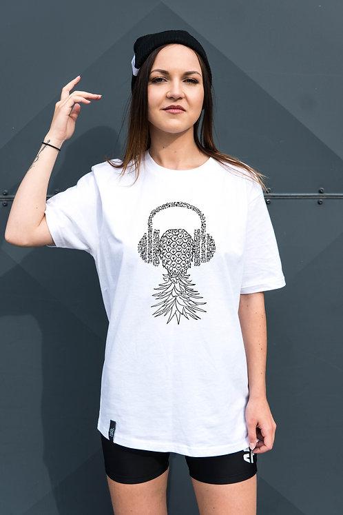 Organic Cotton T-shirt Pineapple, Unisex