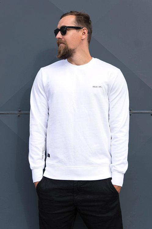 Organic Cotton Sweatshirt All OK, Unisex
