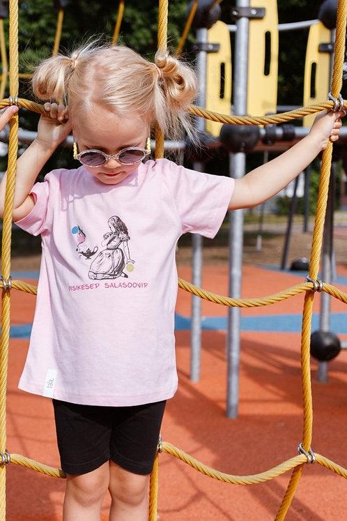 Children Organic Cotton T-shirt Wishes, Unisex