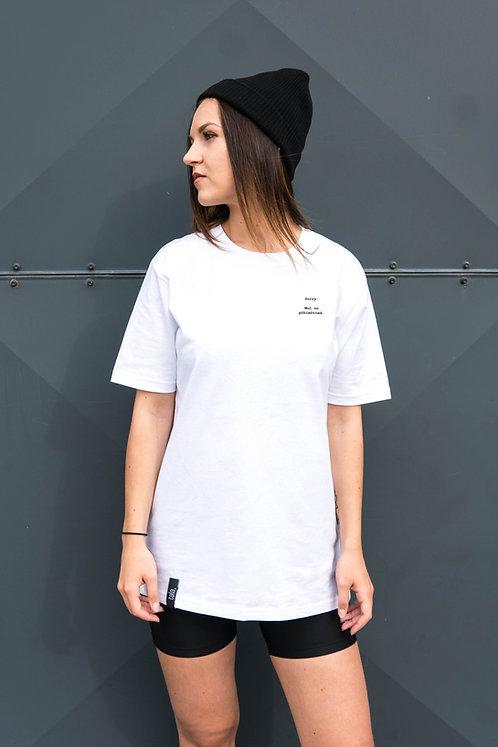 Organic Cotton T-shirt Sorry, Unisex
