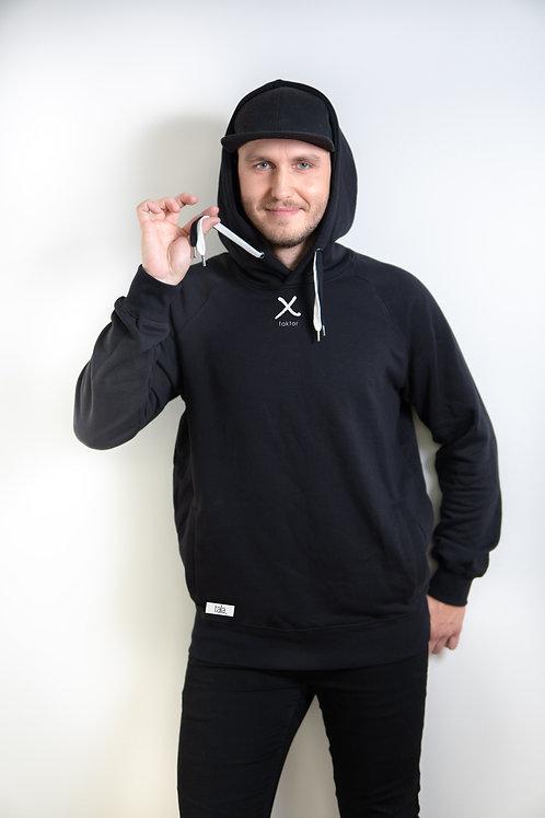 Organic Cotton Pullover Hoodie X-factor, unisex