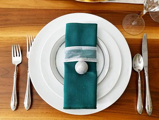 Create a holiday table in 15 minutes without breaking the bank