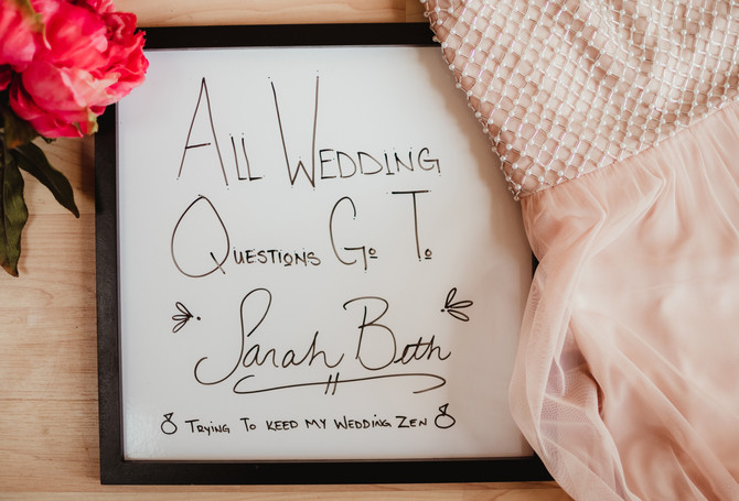 Best Wedding Day Advice...EVER!