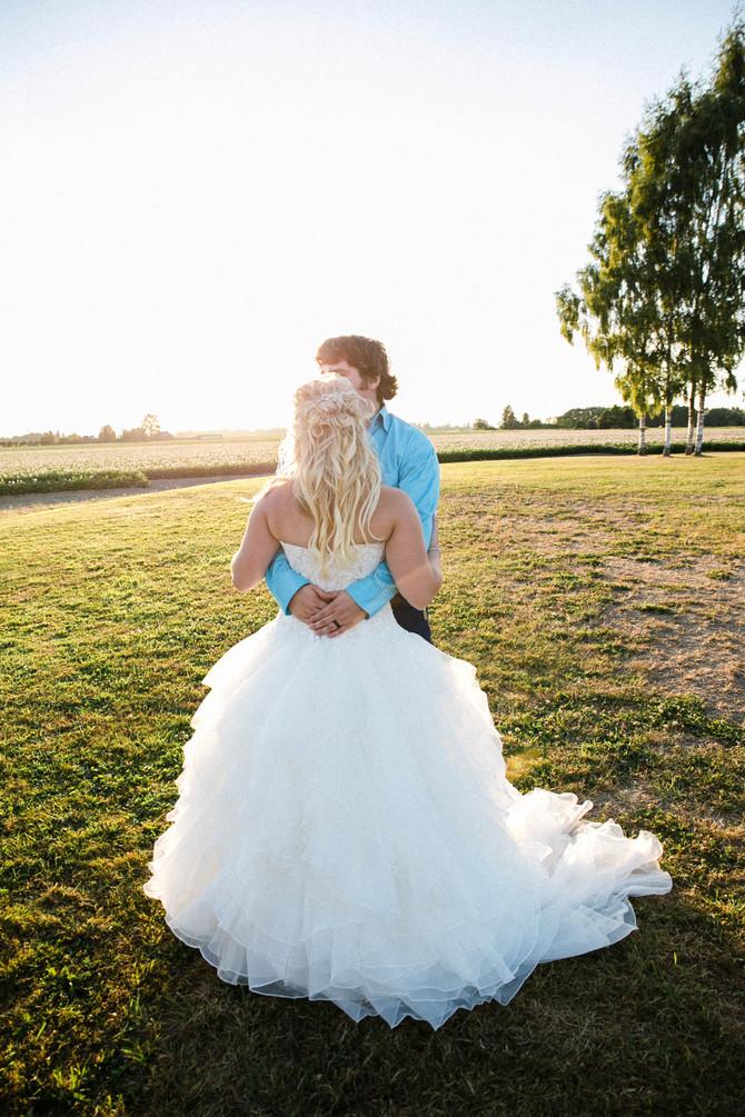 Elizabeth + Logan // Rustic Wedding