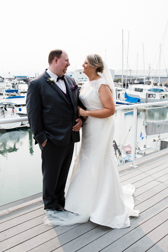 Jason + Kirstie // Wedding Day On The Bay