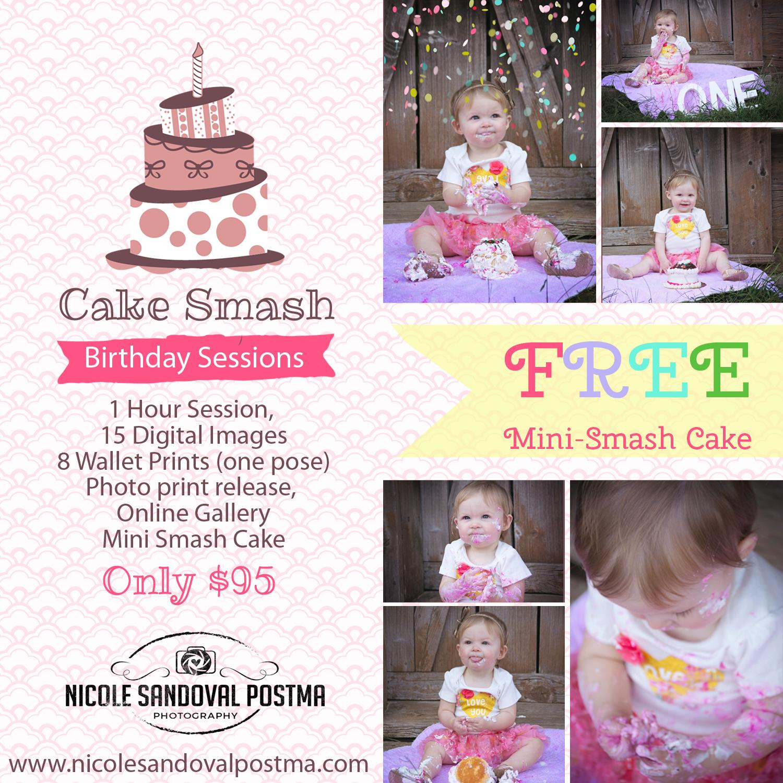 Smash Cake Special