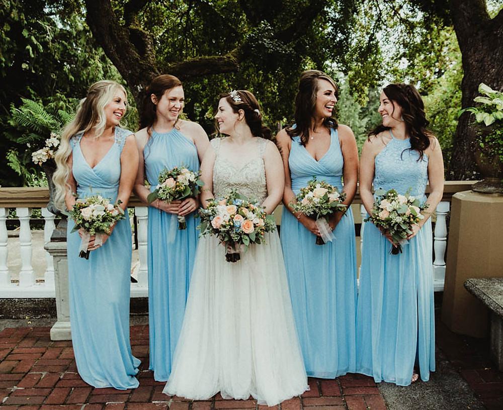 Bridesmaid & Bride // Lairmont Manor Wedding