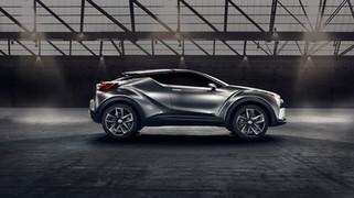 Nouveau Toyota CH-R _ Une autre vision du mouvement _ À partir de 23 000 €