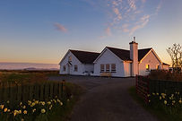 Grianaig Guest House in Spring with yell