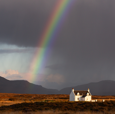 Rainbows and Little White Houses
