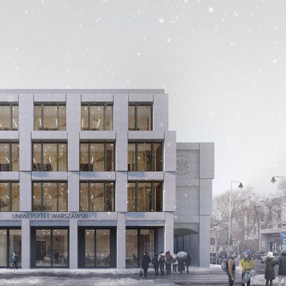 Budynek naukowo-dydaktyczny Uniwersytetu Warszawskiego