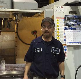 Alt=AHEDD Participant Shawn in Mechanical Environment