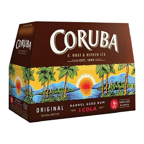 CORUBA & COLA 10 PACK BTLS 5%