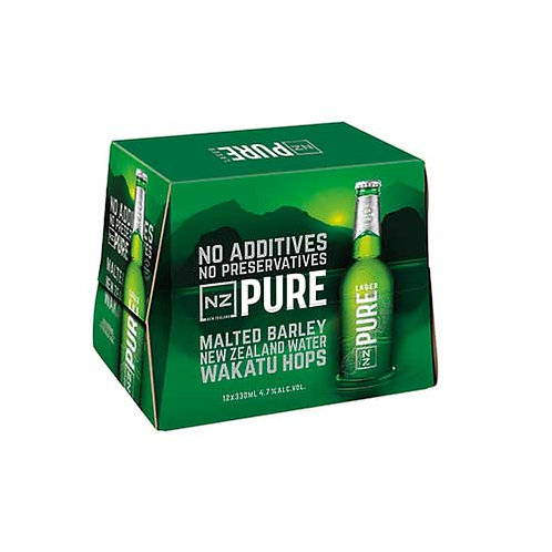 NZ PURE 12 PK 5% BOTTLES