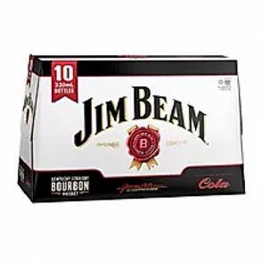 JIM BEAM 10 PACK COLA BTLS 4.8%