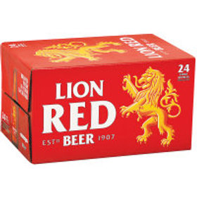 LION RED 24 PACK BOTTLES