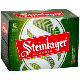 STEINLAGER 330ML 15 BOTTLES