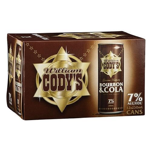 CODYS 7% 12PACK 250ml
