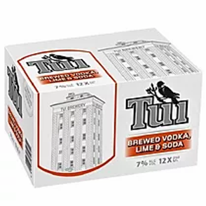 TUI VODKA & SODA 12PK CANS 7%