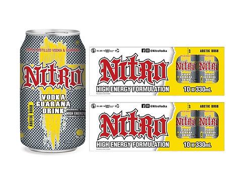 NITRO ARCTIC RUSH LEMON 10 PACK CANS 6%