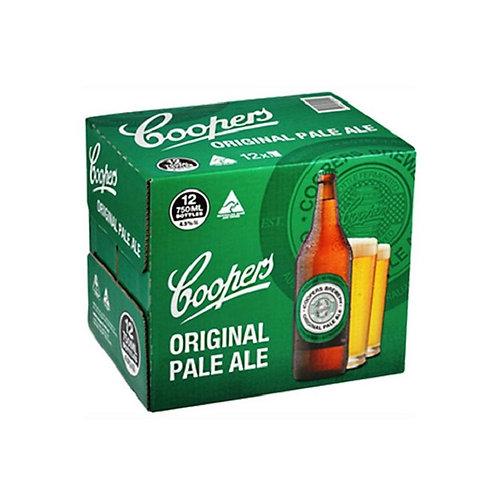 COOPERS PALE ALE 12 PACK 4.5%